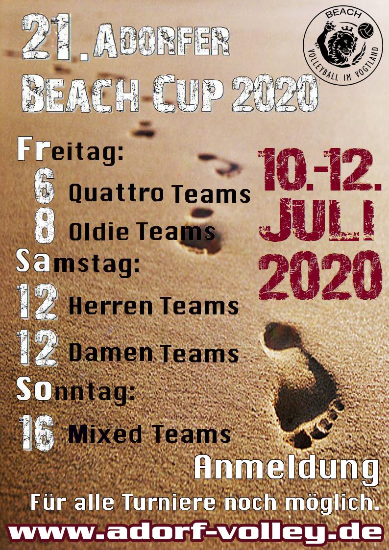 21. Adorfer Vogtland Beachvolleyball Cup